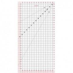 FISKARS Règle de patchwork 15 x 30 cm transparente