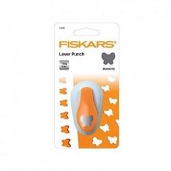 """FISKARS Perforatrice à levier S """"papillon"""", blanc / orange"""