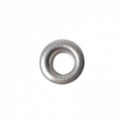FISKARS paquet de 50 oeillets, rond, taille: 4,8 mm,  argent