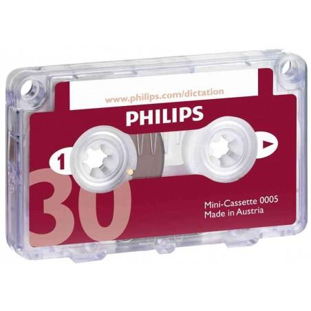 PHILIPS Mini-cassette pour Machine à Dicter 2 x 15 minutes (LFH 005)