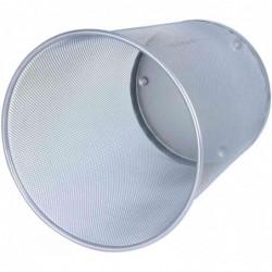 WEDO Corbeille à papier Office 18 litres en fil métallique Argent