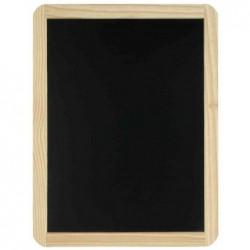 JPC Ardoise en bois, uni, (l)400 x (H)600 mm, couleur: noir