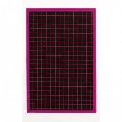 JPC Ardoise en carton 155 x 235 mm Unie / Quad cadre couleur