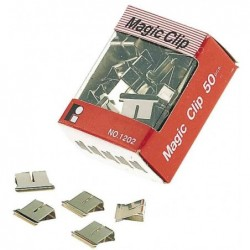 JPC Lot de 50 Magic Clip pour distributeur de clips 4 mm