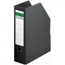 ELBA Porte-revues carton Rigide Dos de 85 mm Noir