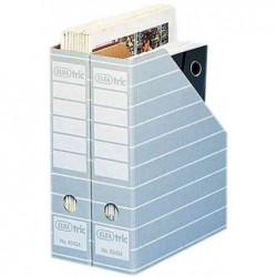 ELBA Lot de 10 Porte revues carton Tric system dos de 75 mm