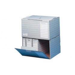 ELBA 10 x container d'archives tric, A4, gris/blanc,