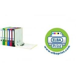 ELBA classeur rado colour, dos: 50 mm, blanc, format A4