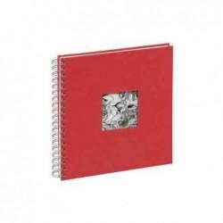 PAGNA Album photo spirale « Passe-partout » 50 pages 24x25 cm Rouge