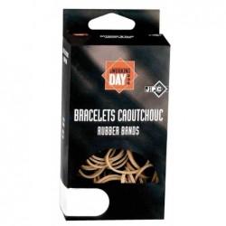 JPC Boite de 100g de bracelets caoutchouc Elastique 120 x 1,8 mm