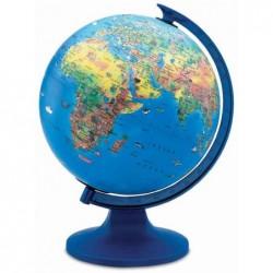 JPC Globe Terrestre Lumineux KID Diam 250 mm Agrémenté Faune, Flore et Monuments