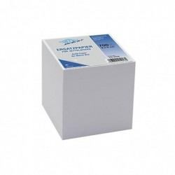 WEDO Recharge Bloc-notes cube 90 x 90 mm 700 feuilles Blanc