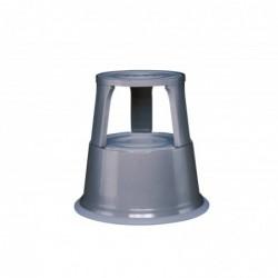 WEDO Tabouret marchepied métal Gris RAL 7012