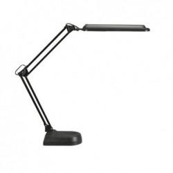 MAUL Lampe de bureau fluo MAULatlantic sur pied Noir