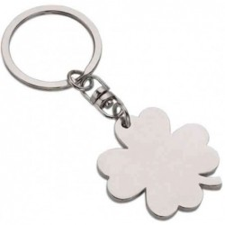 WEDO Porte-clés Trèfle à 4 feuilles, en métal