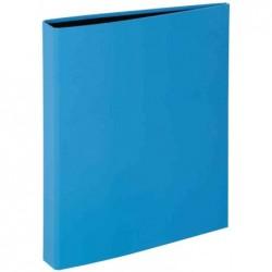 """PAGNA classeur à anneaux """"Trend Colours"""", mécanisme 2 anneaux Bleu clair"""