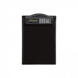 MAUL Porte bloc plastique A4 Calculatrice intégrée Noir