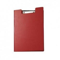 MAUL Porte-bloc à Rabat Carton plastifié format A4 Rouge