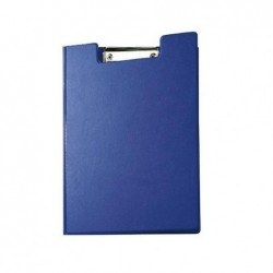 MAUL Porte-bloc à Rabat Carton plastifié format A4 Bleu