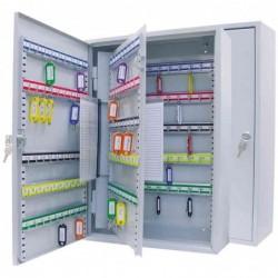 WEDO Armoire à clés pour 150 clés (L)380 x (P)140 x (H)550 mm  Gris lumière