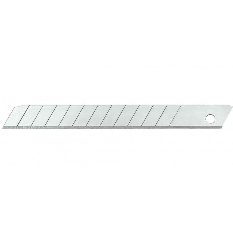 wedo paquet de 10 lames de rechange pour cutter lame 9 mm stock bureau. Black Bedroom Furniture Sets. Home Design Ideas