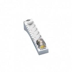 WEDO colonne à monnaie pour pièce de 2 Euro Gris lumière