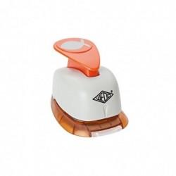WEDO Perforateur Grand Modèle Env 30 mm Motif Poisson