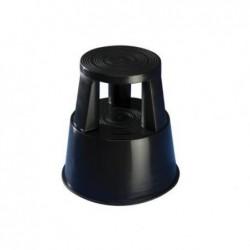 WEDO Tabouret marche-pied STEP Plastique 150 Kg H 43 cm Noir