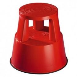 WEDO Tabouret marche-pied STEP Plastique 150 Kg H 43 cm Rouge
