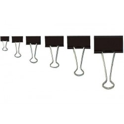 WEDO pince clip Foldback, (L)32 mm, largeur de clip: 13 mm,