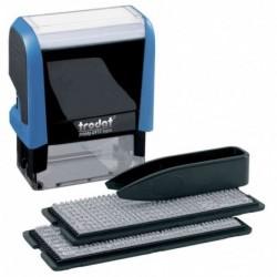 TRODAT Kit timbre à encrage automatique Typo Printy 4912