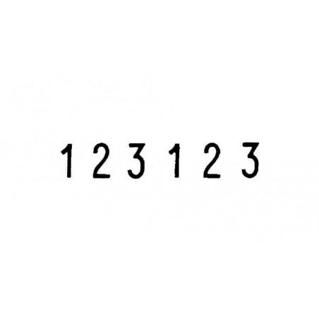 TRODAT Numéroteur 6 chiffres Hauteur 9 x 42 mm