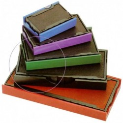 TRODAT Pack de 2 Cassettes d'encrage 6/4908 Noir