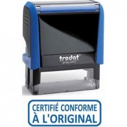 "TRODAT Tampon X-print texte ""CERTIFIE CONFORME A L'ORIGINAL"""