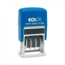 COLOP Mini dateur S120 mois en lettres H 4mm