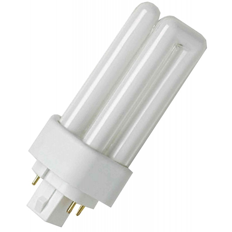 OSRAM Lampe fluo DULUX T/E 830 PLUS,42 Watt 230V Culot GX24q-4, 3200Lumen