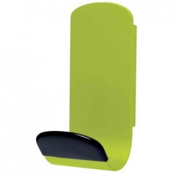UNILUX Patère magnétique STEELY 381 Capacité 12 Kg Vert