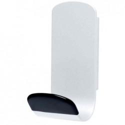 UNILUX Patère magnétique STEELY 381 Capacité 12 Kg Blanc