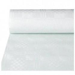 PAPSTAR Nappe en damas, rouleau, 10 x 1 m, blanc