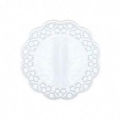 PAPSTAR Pqt de 12 Napperons Gateau papier 40g Diam 360 mm Blanc