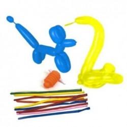 PAPSTAR Sachet de 5 Ballons de baudruche modelables, pompe incluse