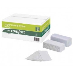 WEPA Essuie-mains Comfort, 250 x 330 mm, blanc nature