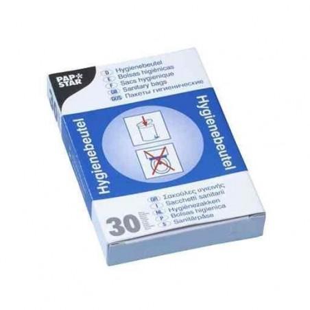 Pack de 30 Sachets hygiéniques en polyéthylène pour distributeur