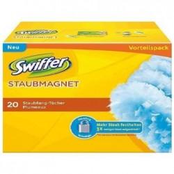SWIFFER Lot de 20 recharges plumeau anti poussière