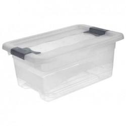 OKT Boîtes rangement Cristal-Box 4 litres L295 x P195 x H125 mmTransparent