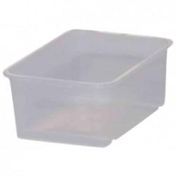 """OKT Bac plastique transparent """"easystorage"""" 25 x 17 x 10 cm"""
