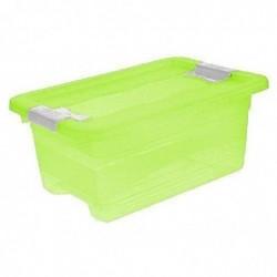 "OKT keeeper boîte de rangement ""cornelia"" 4 litres (L)295 x (P)195 x (H)125 mm Fresh-green"