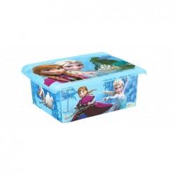 """OKT Boîte de rangement Fashion-Box """"reine des neiges"""""""