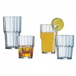 "ESMEYER Verre de jus ""Norvege"", 0,25 litres, empilable Pack 6"