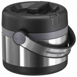 EMSA Récipient alimentaire isotherme MOBILITY 0,65 litre Noir Argent